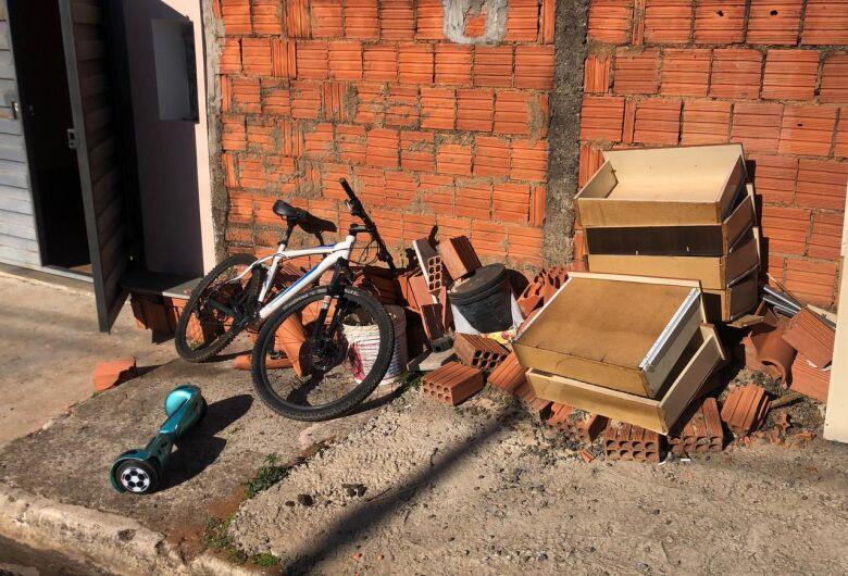 Adolescente é detido após praticar furto em residência no Jardim Itamaraty