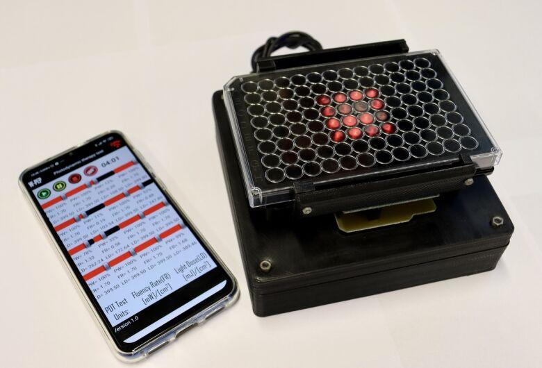 Aparelho portátil criado pela USP de São Carlos calcula dose ideal de medicamento contra o câncer