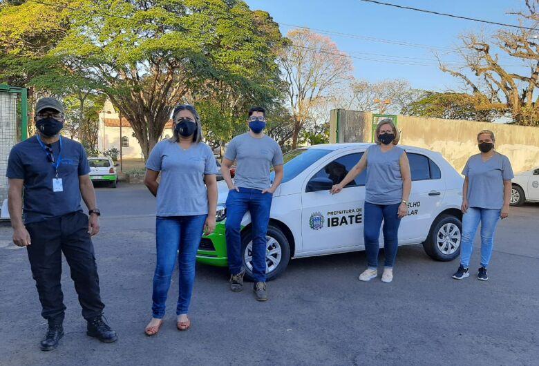 Equipe do Conselho Tutelar de Ibaté recebe carro zero km