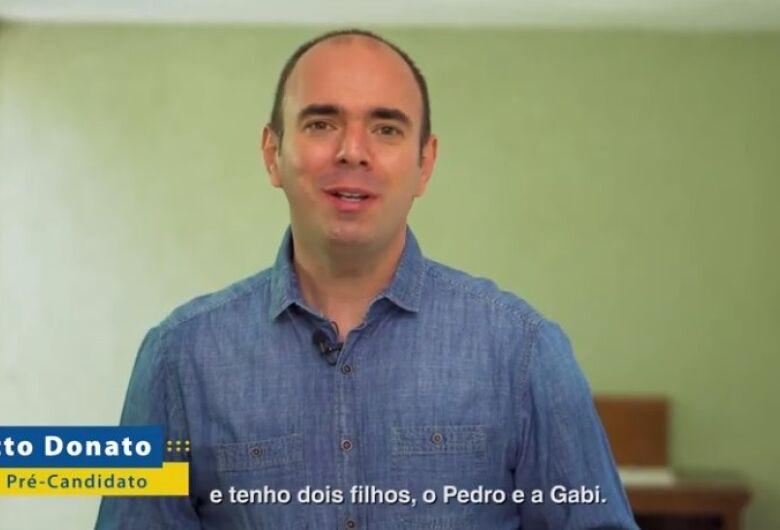 Netto Donato lança pré-candidatura a prefeito de São Carlos