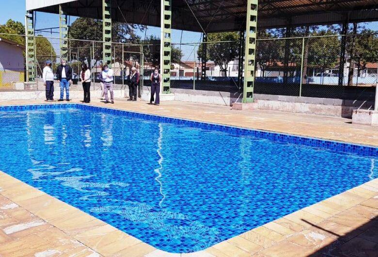 Prefeitura investe R$ 1,4 milhão na recuperação de piscinas da rede municipal de ensino