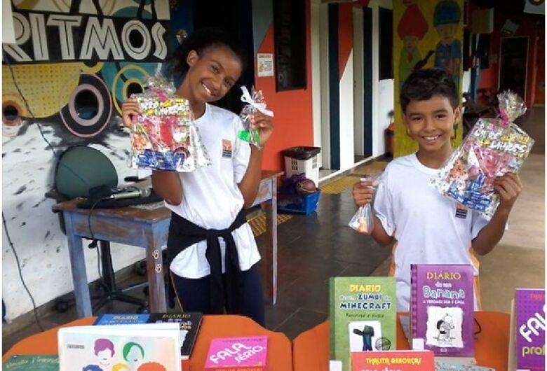 Projeto Pequeno Cidadão realiza campanha de arrecadação de livros infanto-juvenil e gibis