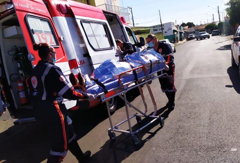 Homem sofre corte profundo no pescoço na Vila Jacobucci