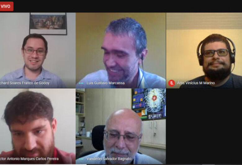 Colação de grau virtual de 18 novos bacharéis do IFSC/USP São Carlos