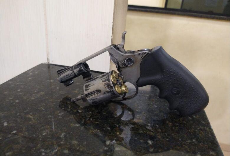 Arma de fogo é localizada com jovem em Ibaté