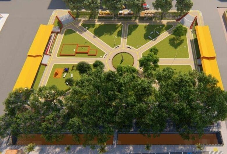 Centro de São Carlos deve ganhar novo shopping popular e bolsão de estacionamento nos próximos meses