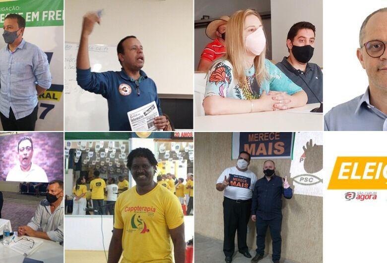 Convenções definem mais sete candidatos a prefeitura de São Carlos