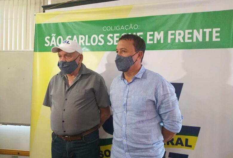 """""""São Carlos é uma cidade moralizada"""", diz Airton Garcia em convenção"""
