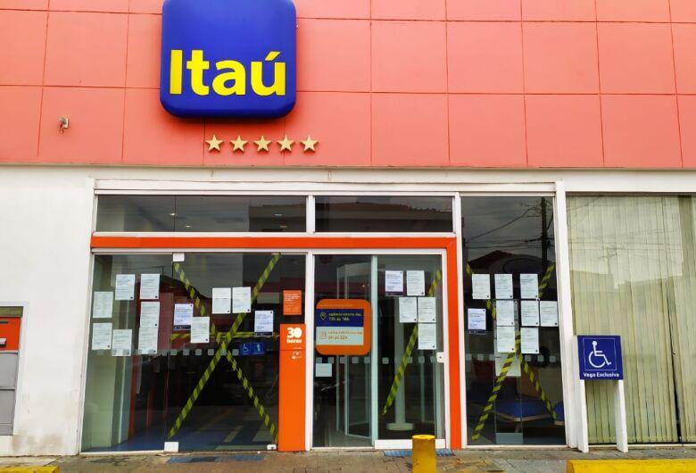 Itaú da avenida Sallum é novamente fechado por suspeita de Covid-19 entre funcionários