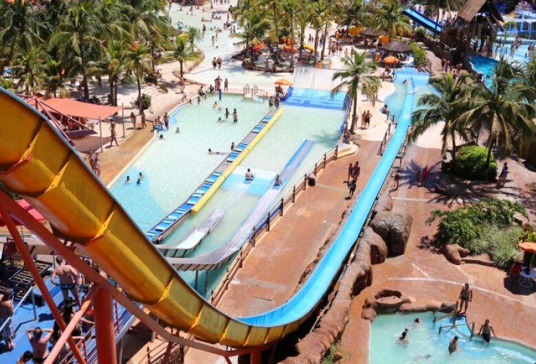 Parques aquáticos de Olímpia poderão reabrir a partir de 23 de setembro