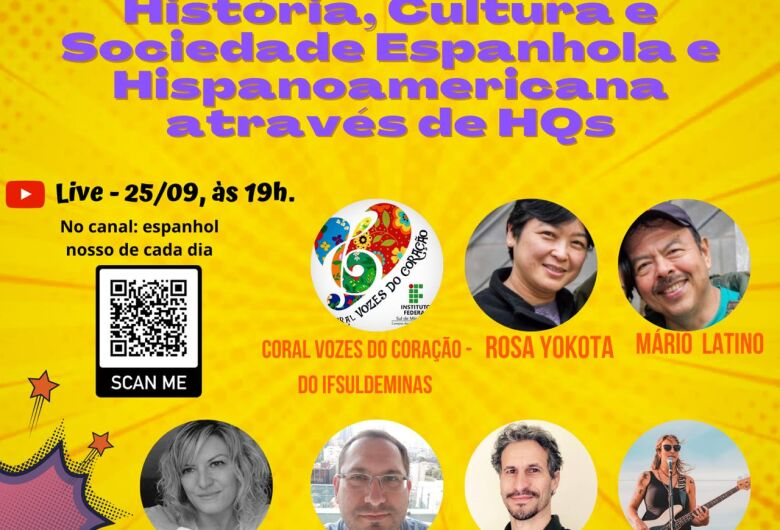 IFSP São Carlos realiza o IV Sarau Cultural Espanhol