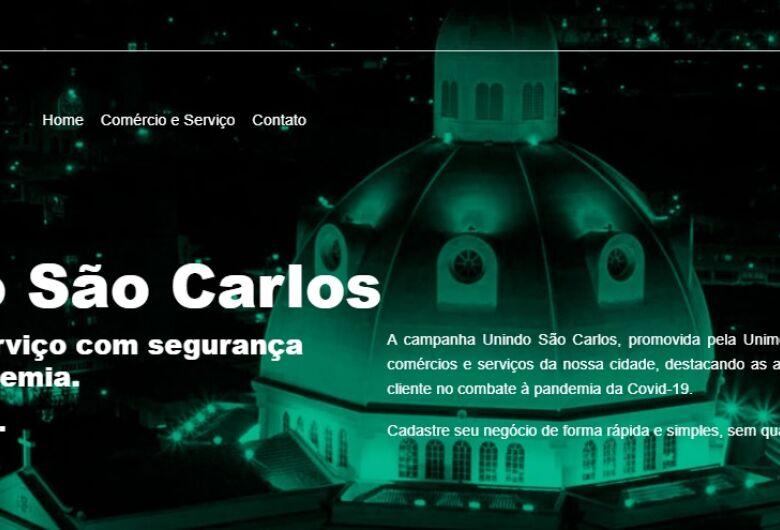Unimed São Carlos lança site de apoio ao comércio do município