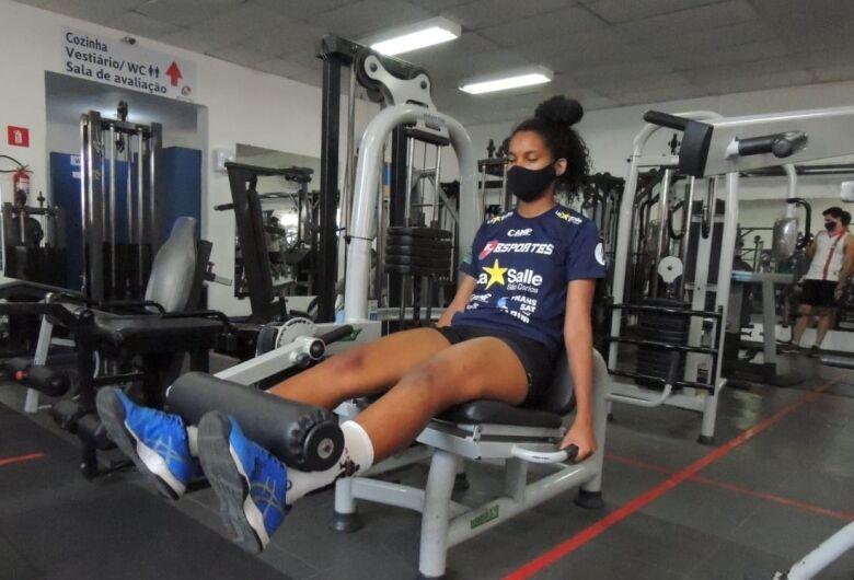 Larissa Souza é reforço e uma das apostas do H7 Esportes/La Salle