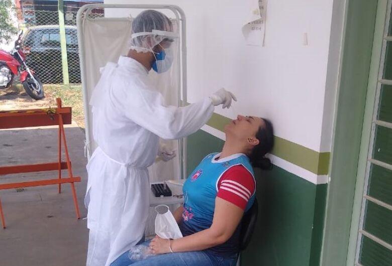Atletas do vôlei feminino realizam exames PCR em unidades de saúde de São Carlos