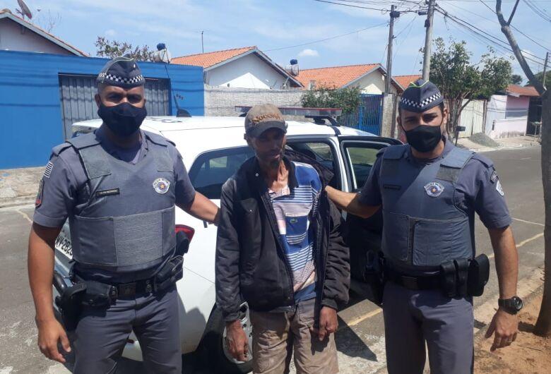 Após cinco dias desaparecido, tio Marivaldo volta para casa com a ajuda da PM e do SCA