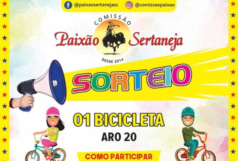 Paixão Sertaneja sorteará bicicleta no Dia das Crianças