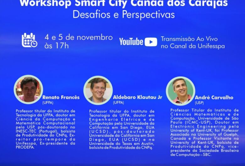 USP São Carlos e Universidade Federal do Pará promovem Workshop Smart City Canaã dos Carajás: desafios e perspectivas