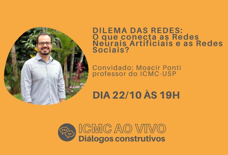 """""""Bate-papo"""" em São Carlos discute o Dilema da Inteligência Artificial e seus impactos nas redes sociais"""