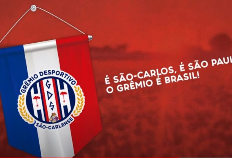 Grêmio São-carlense lança hino oficial para dar identidade ao clube