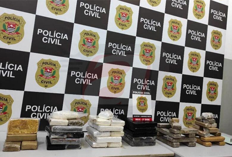 DEIC encontra grande quantidade de drogas em casa no Presidente Collor