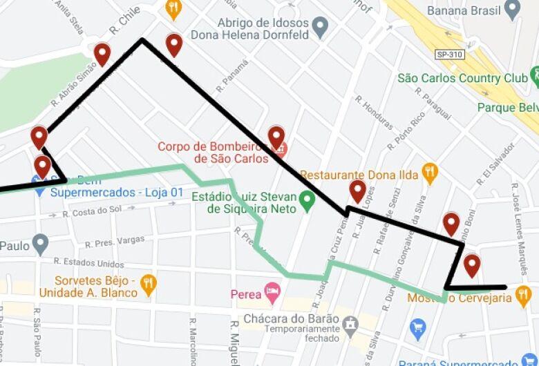 Suzantur promove adequações na linha Cedrinho x São Carlos 8