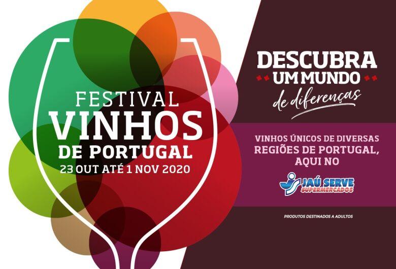 Festival de Vinhos de Portugal do Jaú Serve Supermercado convida para descobrir muitos sabores