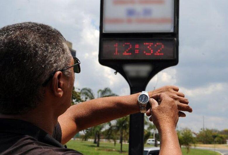 Pelo segundo ano consecutivo, Brasil não terá horário de verão