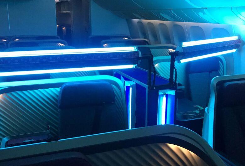 Com ajuda da USP São Carlos, LATAM cria tecnologia própria para limpeza de aeronaves com luz ultravioleta