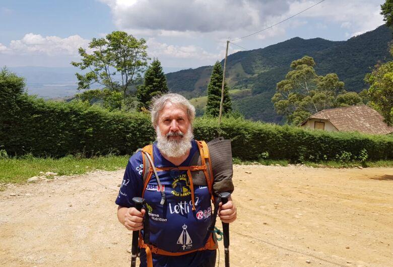 Nino Carneiro entra no último dia e está a 22 km do santuário