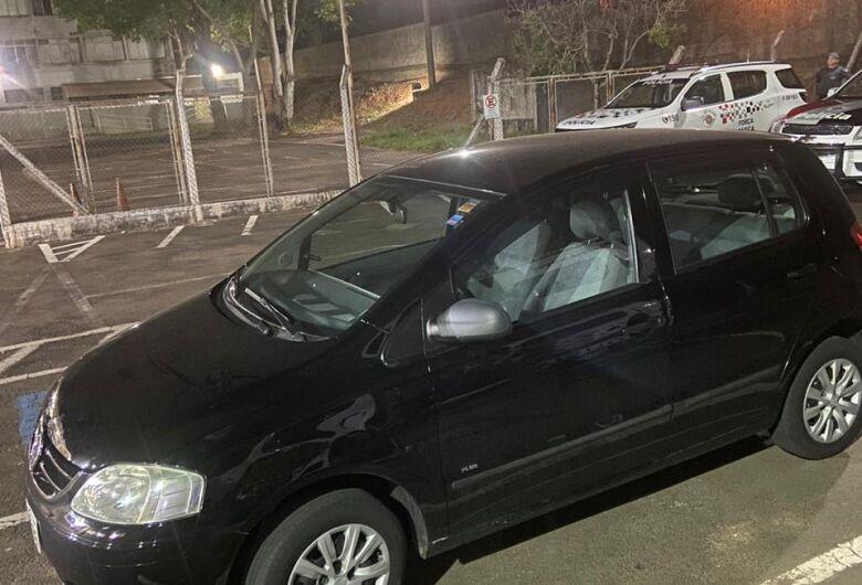 Quatro são presos pela Força Tática após roubo de carro no centro