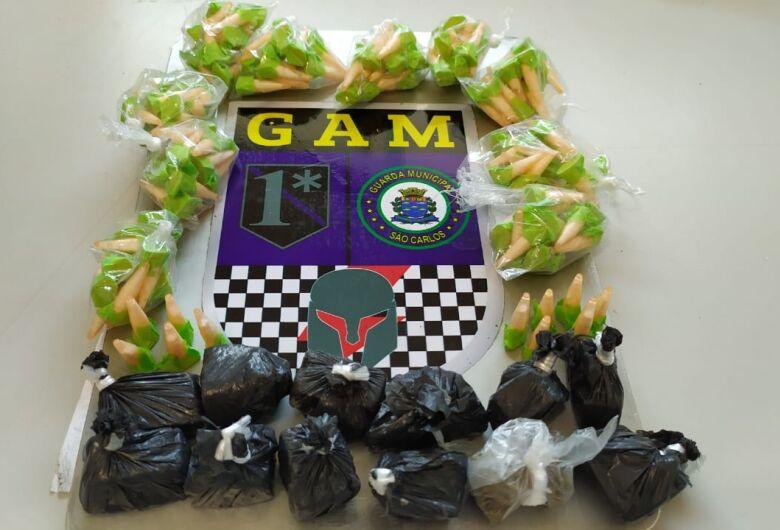 GM vai participar de inauguração de USF do CDHU e acaba fazendo apreensão de drogas