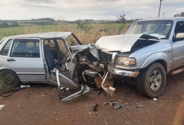 Idosa morre em acidente na região de Ribeirão Bonito