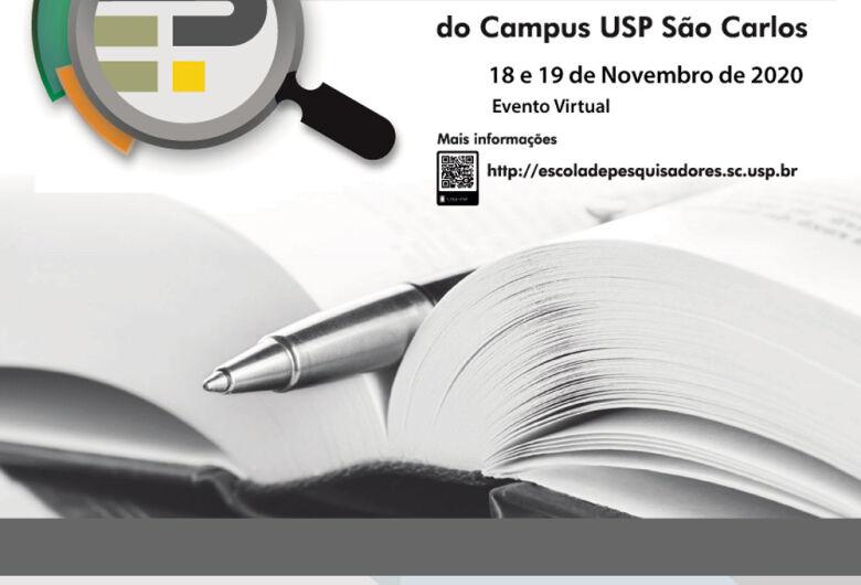 Inscrições abertas para a 4ª Escola de Pesquisadores da USP São Carlos