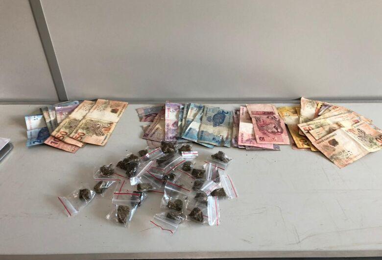 Casal é flagrado com drogas no São Carlos 5