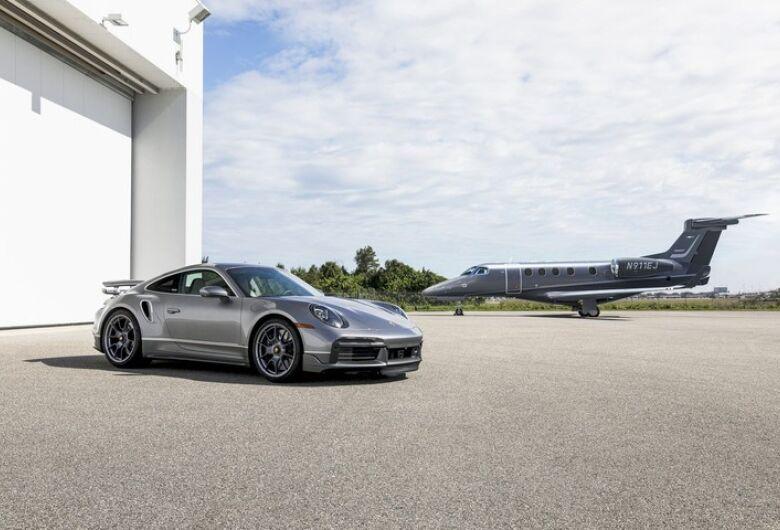 """Embraer e Porsche anunciam parceria para criar edição limitada """"Duet"""""""