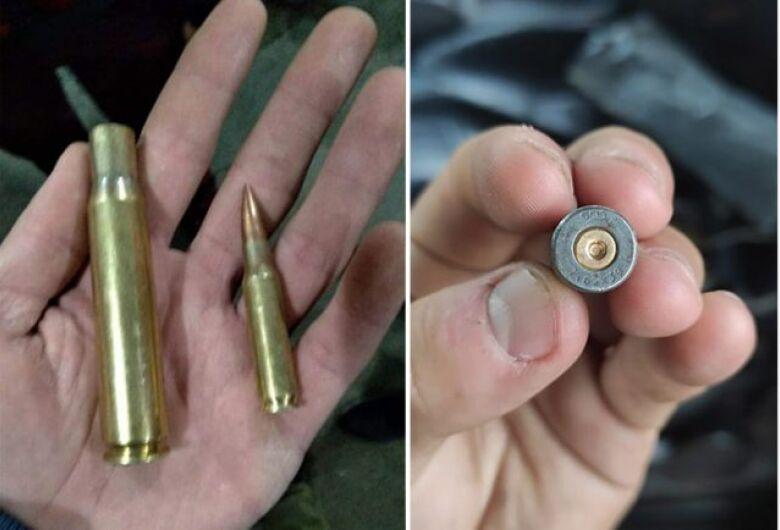 Quadrilha usou armamento pesado para enfrentar a Polícia em Araraquara