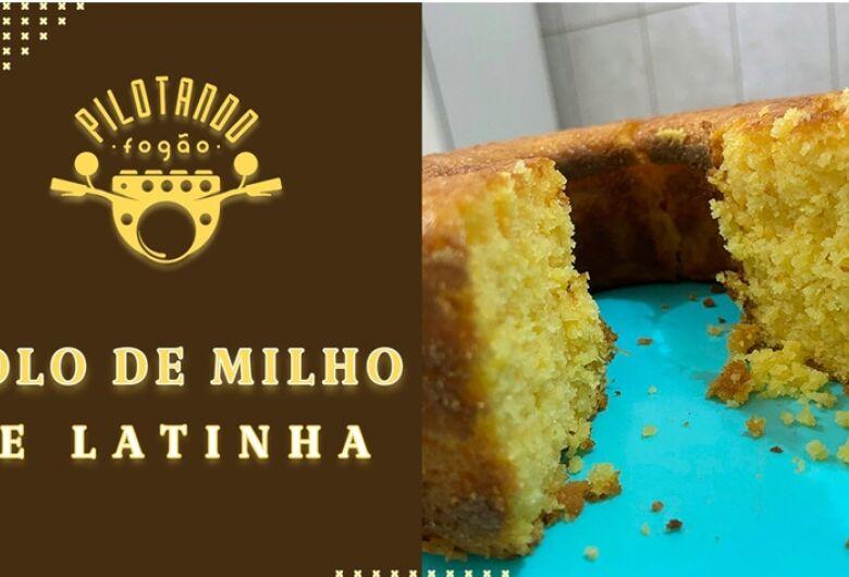 Vinicius Holmo ensina a fazer um delicioso bolo de milho de latinha