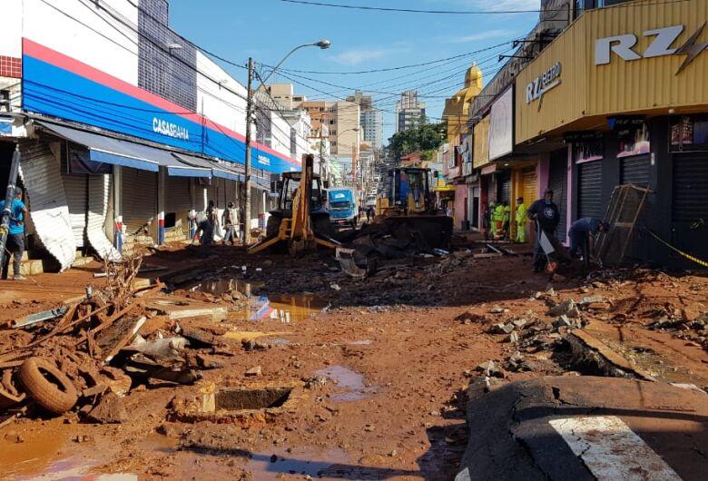 Após temporal, São Carlos amanhece com cenário de destruição e prejuízo