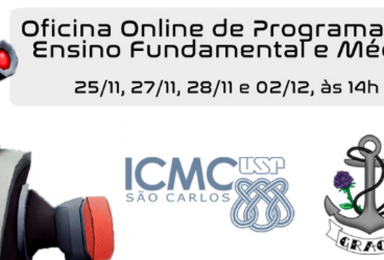 Oficina online na USP São Carlos: aprenda princípios de programação dentro de uma estação espacial