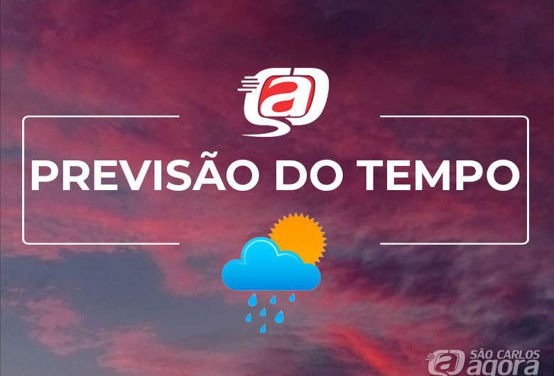 Previsão do tempo para os próximos dias em São Carlos