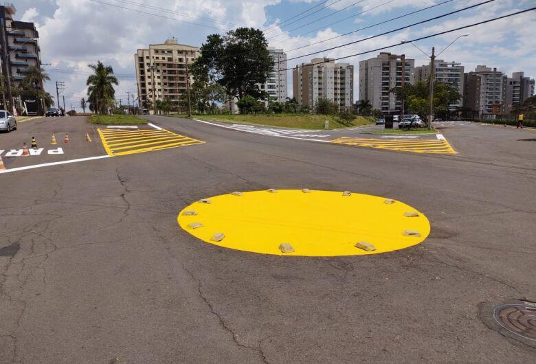 Prefeitura investe na sinalização de trânsito em vários pontos de São Carlos