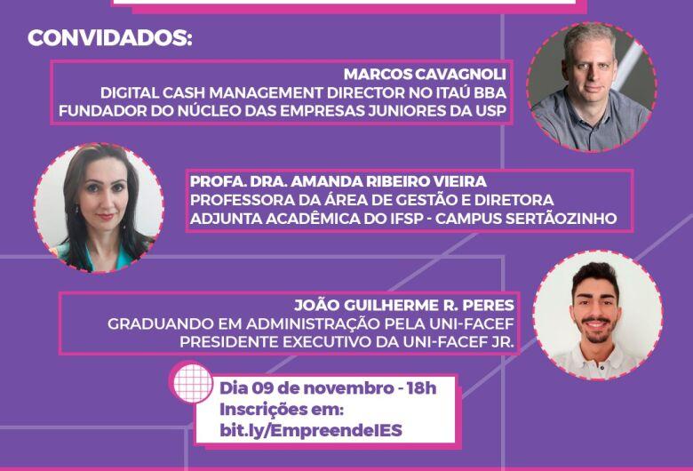 Evento gratuito organizado por Núcleo de Empresas Juniores da região busca promover o empreendedorismo universitário