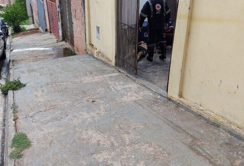 Trabalhador cai de andaime e sofre ferimentos no Prolongamento Jardim das Torres