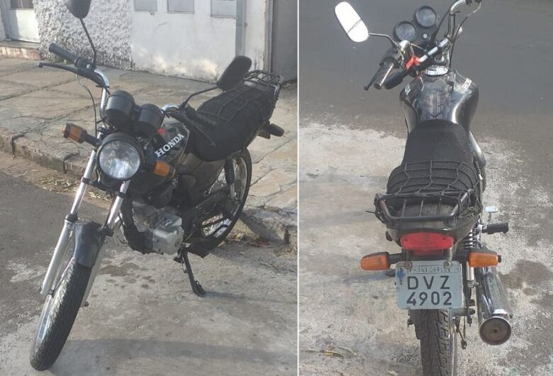 Moto é furtada na Vila Prado