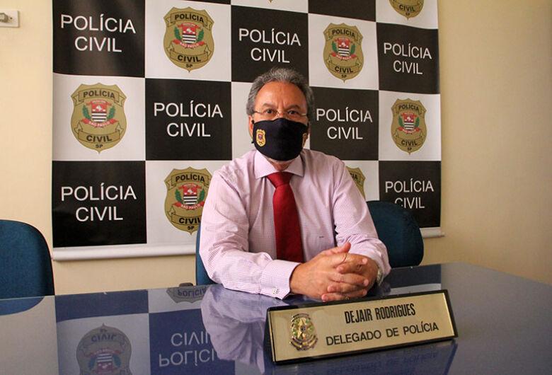 Dejair Rodrigues completa três meses à frente do comando da Polícia Civil