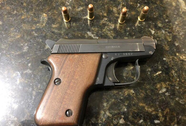 Homem é detido com arma de fogo no Distrito de Guarapiranga