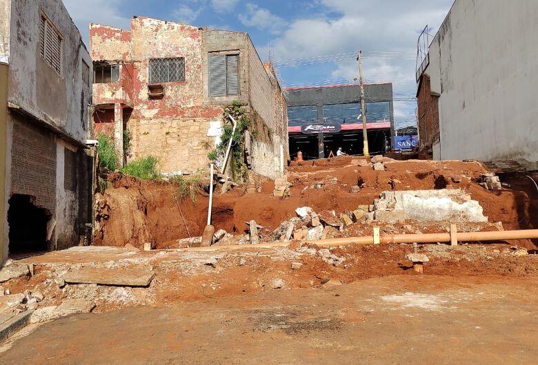 Moradores do Lagoa Serena estão apavorados com ocorrência de novas chuvas