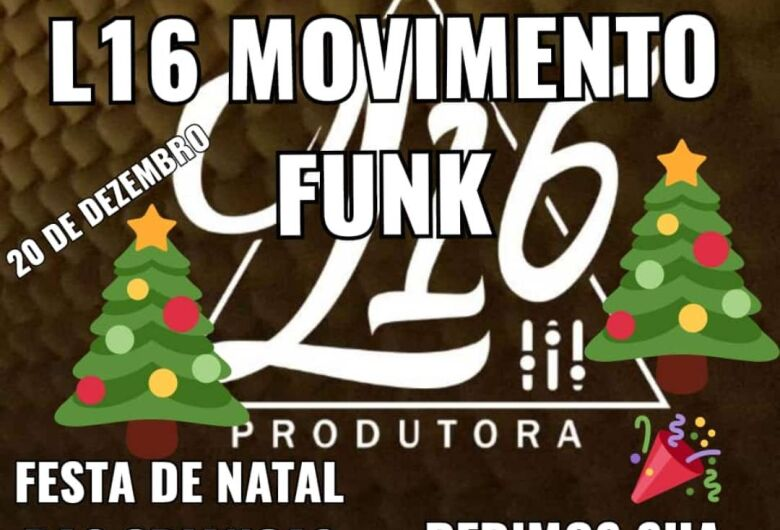 L16 Movimento Funk promoverá Natal Solidário no São Carlos 8