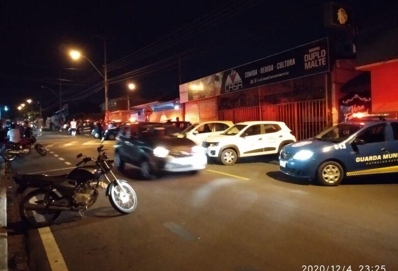 Força Tarefa interdita loja de conveniência no Centro