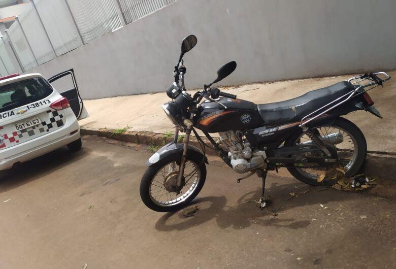 Moto furtada é localizada pela PM no Jardim Paulista